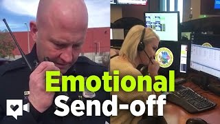 Police Officer Makes Emotional Final Radio Call | Humankind