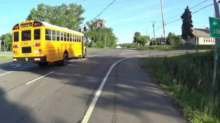 Shenendehowa Bus 659 Runs Red Light
