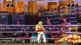 Fatal Fury snes gameplay video