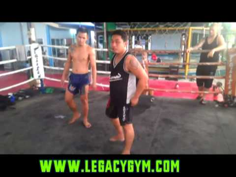 Legacy gym Thailand,teacher