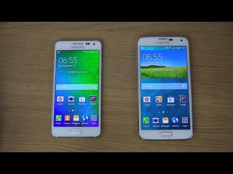 Samsung Galaxy Alpha vs. Samsung Galaxy S5 - Review