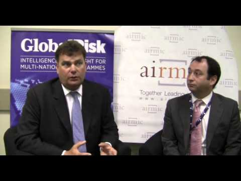 Julian James and Richard Nathan of Allied World Assurance Company talk to Global Risk