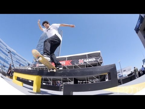 Paul Rodriguez Street League at X Games LA Practice Day 2