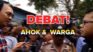 Perdebatan Ahok dan Ketua FPI Pasar Minggu