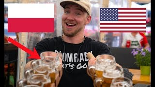 An AMERICAN visits POLAND! (First Reaction)
