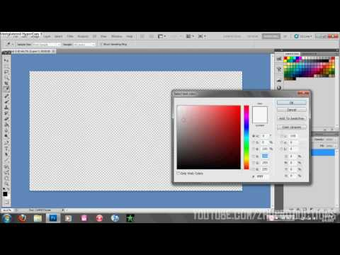 Create a Transparent Text Watermark With Adobe Photoshop CS5