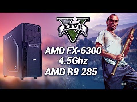 Игровой ПК FX-6300 AMD R9 285 Тестируем GTA V, WOT, Crysis 3
