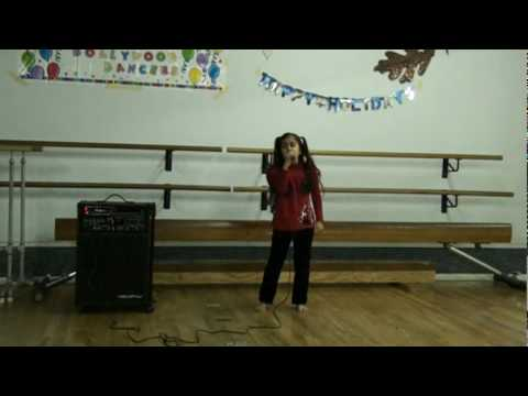 7 Yr Old Harveen Singing Already Gone  From Kelly Clarkson Dec 09 video