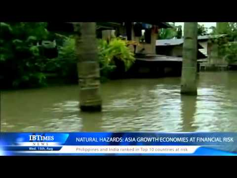 Natural hazards: Asia growth economies at financial risk