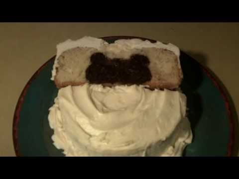 How to Make a Mickey Mouse Inside Birthday Cake