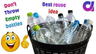 WOW !! DIY Plastic bottle reuse/Best craft from plastic bottle | Best out of waste | Artkala