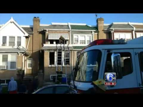 7-year-old critically injured in Southwest Philadelphia house fire-News Video
