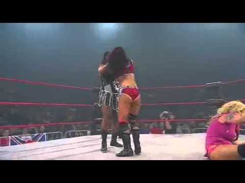 ODB vs Tara vs Awesome Kong TNA Knockouts 3 Way Match
