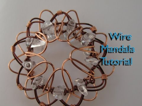 How to Make a Wire Mandala