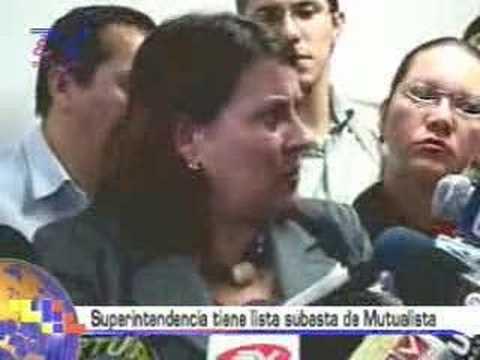 Superintendencia tiene lista subasta Mutualista