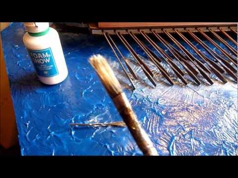 Sea battle diorama: How to make water effects (tutorial)