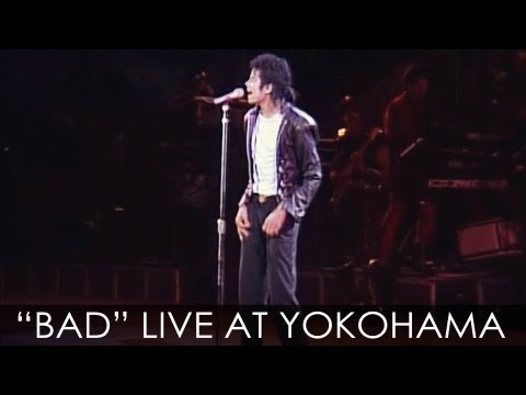 Michael Jackson - bad Live Bad Tour In Yokohama 1987 - Enhanced - High Definition video