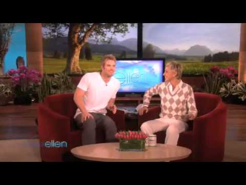 Kellan Lutz Surprises Ellen's Audience
