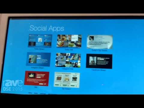 DSE 2015: Screenfeed Previews Social Apps for Curating Social Media Content for Digital Signage