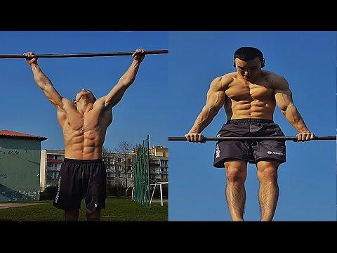 Szybki Trening - DRĄŻEK (ĆWICZENIA) / FAST WORKOUT ON THE BAR (EXERCISES)