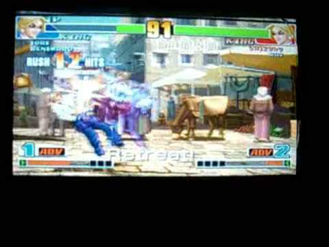 King Of Fighters Collection: The Orochi Saga Gameplay PSP