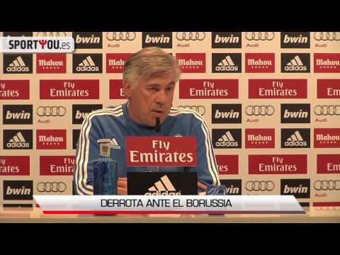 La lesión de Cristiano Ronaldo, vista por Ancelotti