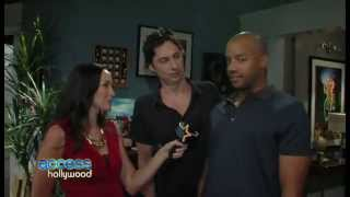 Zach Braff and Donald Faison on The Exes (part 1)