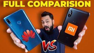 Huawei Y9 vs Redmi Note 6 Pro Comparison ⚡ Camera, PUBG Gaming, Performance & More...