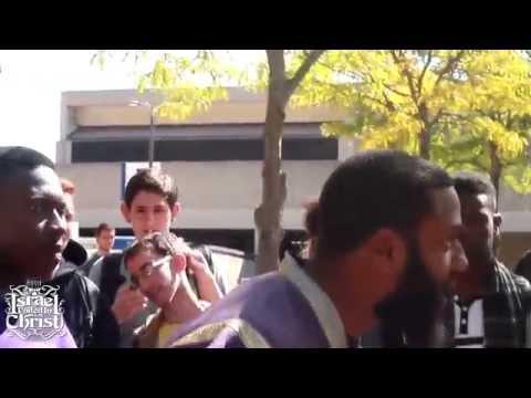 ISRAEL UNITED IN CHRIST Invade College Ground. Blacks Ruled Europe