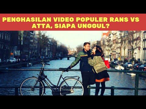 Super Duper Dahsyat! Penghasilan Video Populer Rans Entertainment Vs Atta Halilintar, Siapa Unggul?