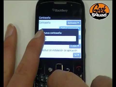 Tip: Cómo poner contraseña de bloqueo en BlackBerry