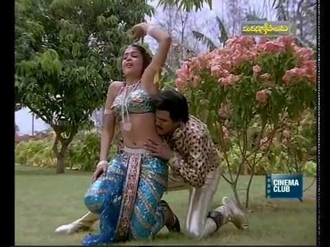Ramya Krishnan Hot In Madanagopaludu With Rajendra Prasad video