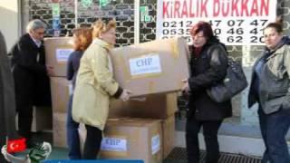 CHP Zeytinburnu'ndan Van'a Yardım Eli