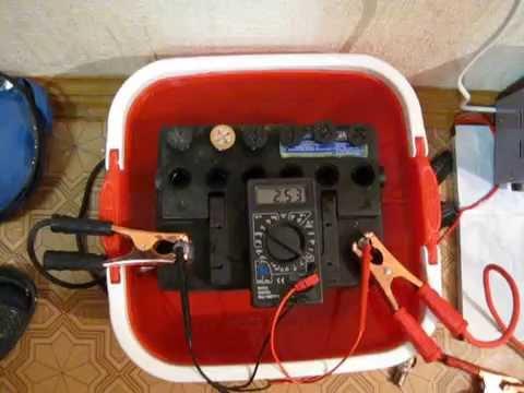 Восстановить аккумулятор в домашних условиях