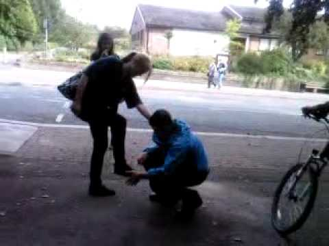 Dan Batterton Kissing Charlottes Feet Haha video