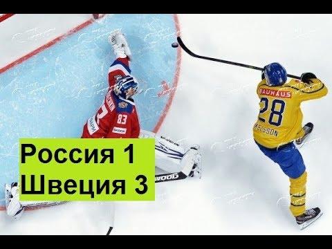 Россия Швеция 1-3 Анализ игры ЧМ2018 хоккей