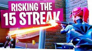 RISKING THE 15 WIN STREAK IN SOLOS! - Fortnite Battle Royale Solo