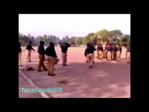 Main Police Wich Bharti Hogya Of Siege Band By Aamir's(hd) Song video