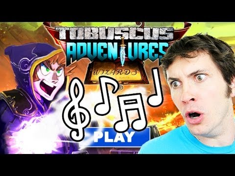 Tobuscus Adventures Wizards Title Screen Theme Song video