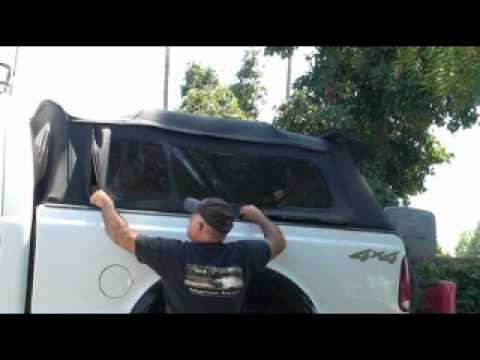 Dodge Ram 4x4 >> Bestop Supertop for Truck - YouTube