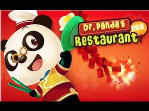Dr  Panda's Restaurant: Asia - Best iPad app demo for kids