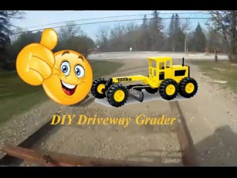 DIY Homemade Driveway Drag Grader