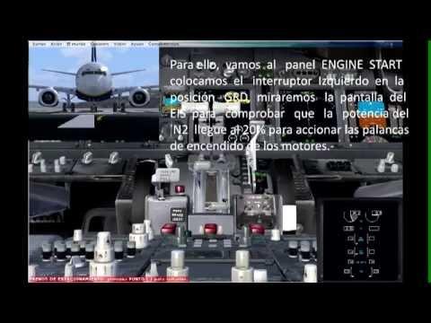 Tutorial en Español Boeing 737 PMDG. Startup o Puesta en Marcha desde Cold and Dark e IRS ALING