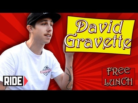 David Gravette - Drinking Piss, Shitting, And More On Free Lunch (part 1 Of 2) video