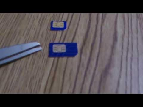 Como cortar un Chip a Microchip. (Para todos los Celulares)
