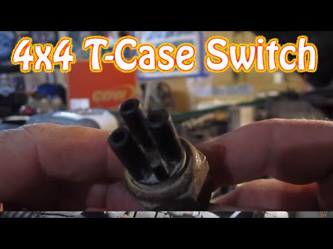 Chevy Blazer \ GMC Jimmy 4WD Transfer Case Vacuum Switch Location (4x4 Repair)