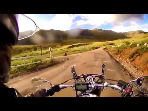 Alaska Motorcycles Cross Hatcher Pass 2014
