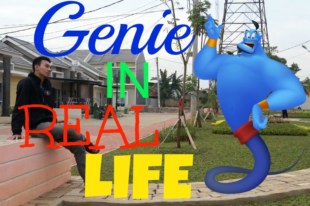 Real Genie Pictures Genie in Real Life