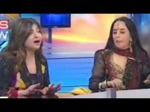 Alka Yagnik & Ila Arun Singing Duet Without Music - Ring Ring Ringa