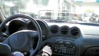 Driving The Pontiac Grand Am